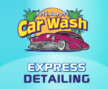 Miami Car Wash & Detailing Center logo