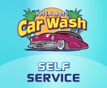 Miami Car Wash – Self Service logo